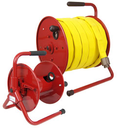 Lightweight and Portable Hose Reels for Firefighting