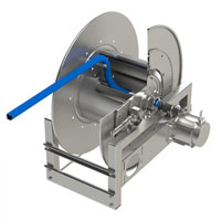 Hannay Reels for Corrosive Chemical Applications