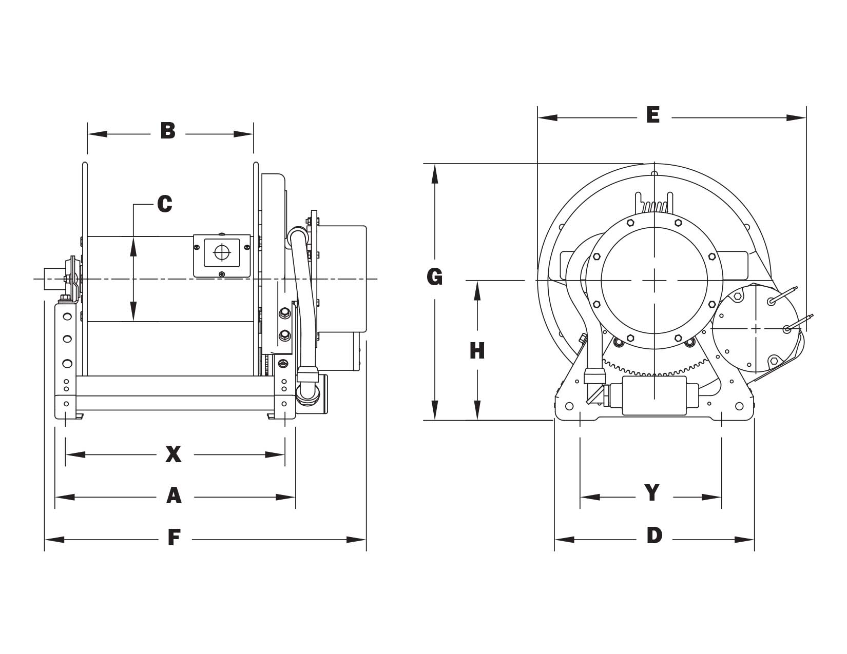 CR1600 Schematic_1492436847 cr1600 series hannay reels official site hannay reel wiring diagram at panicattacktreatment.co