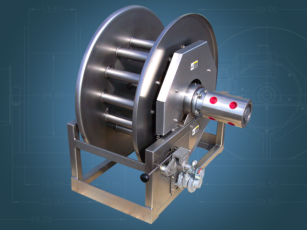 Multi-Hub Hose Reel